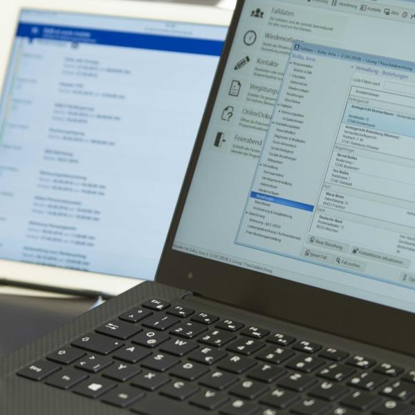BdB at work auf Laptop und mobil auf Apple iPad